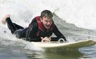 A surfin' Patrick