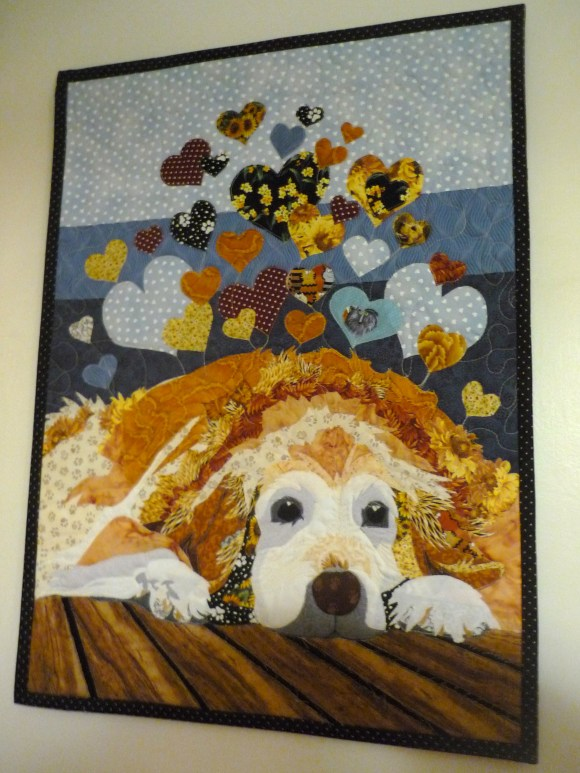 Dog Print Quilt Cover